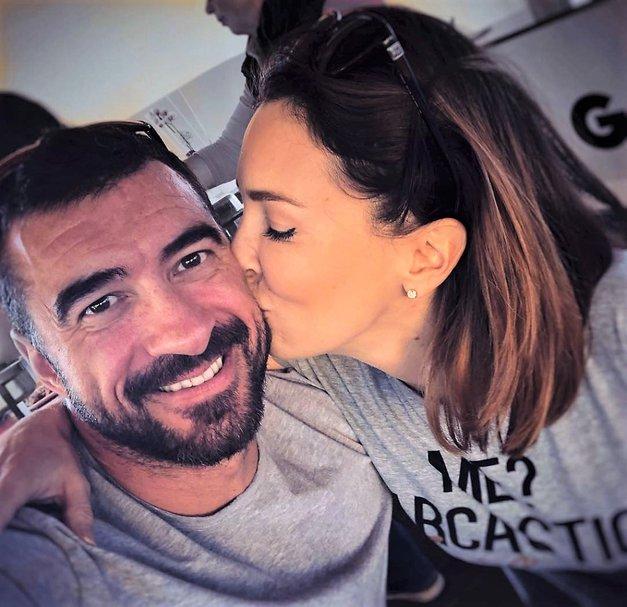 Iii! Preberi, kakšno srčno sporočilo je Marko Potrč namenil svoji Lili (foto: Instagram/Marko Potrč)