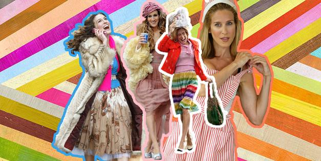 Spoznaj TRIK Carrie Bradshaw, s katerim boš vzorce in barve kombinirala kot profesionalka (za vedno!) (foto: Promocijsko gradivo)
