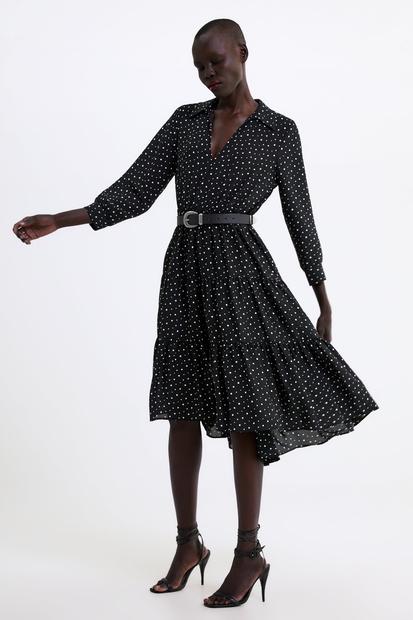 V Zari namreč za 39,95EUR najdeš skoraj identično obleko, ki je še vedno na voljo v vseh velikostih! 😍Zraven kombiniraj …