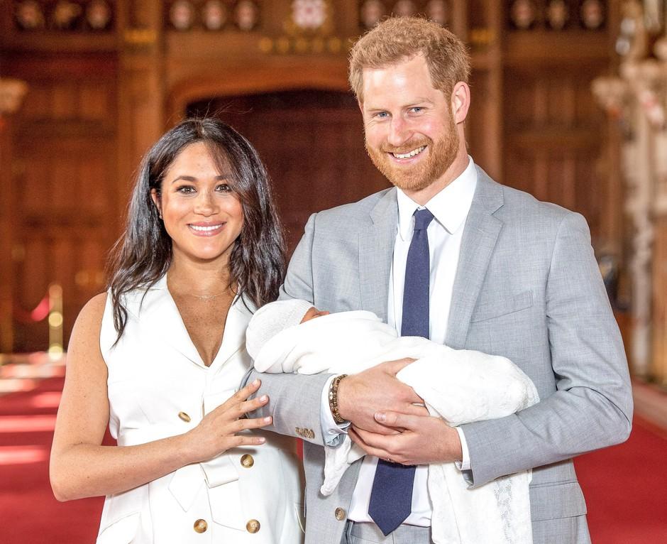 Harry in Meghan sta sinu nadela NAJBOLJ posebno ime (poglej, kako krasen pomen ima!) (foto: Profimedia)