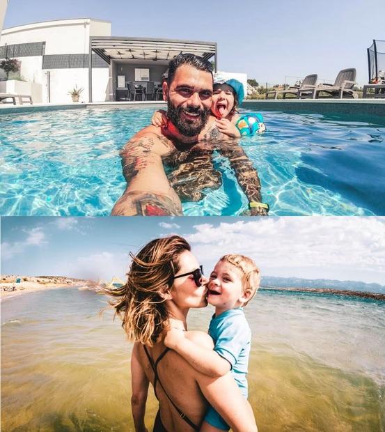 Cool Fotr Jani se je s svojo družino odpravil počitnikovat v luksuzno vilo z bazenom na območju Zadra. Priznamo, kar …