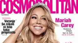 VROOOČE: Novi Cosmo z Mariah Carey in DARILOM