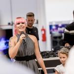 Nika Zorjan otvorila prvo prenovljeno trgovino Big Bang v Mariboru