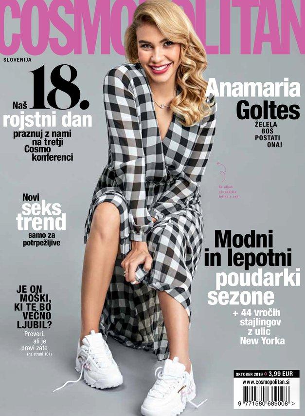 VROČE: Novi Cosmo s KOLEDARČKOM, ki ga bralke vsako leto komaj čakate (foto: Cosmopolitan Slovenija)
