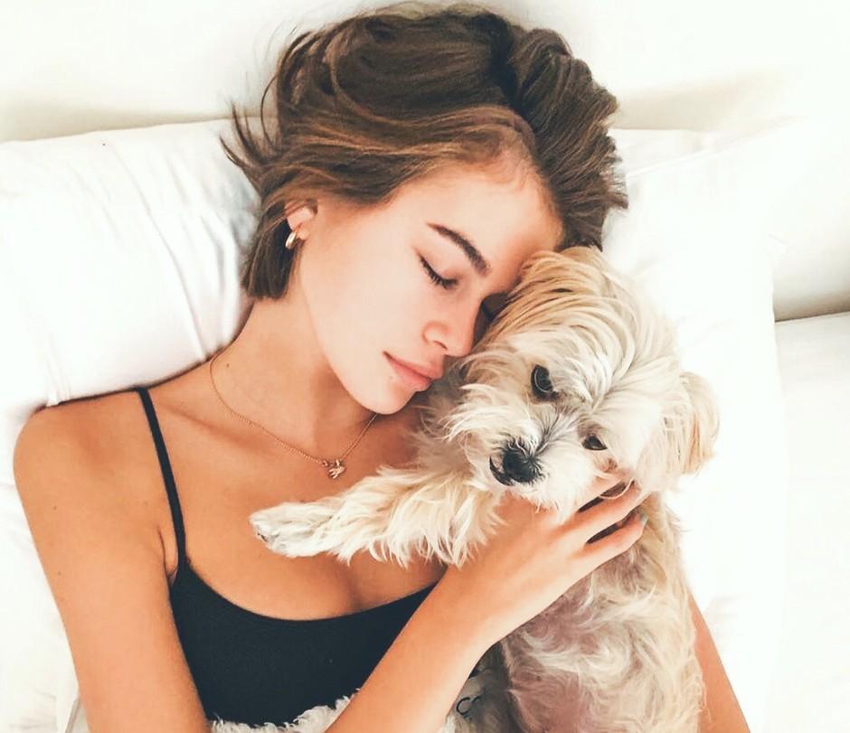 """""""Psi ne umrejo. Psi samo zaspijo v naših srcih"""" (ganljiv zapis za VSE lastnike psa🐶) (foto: Profimedia)"""