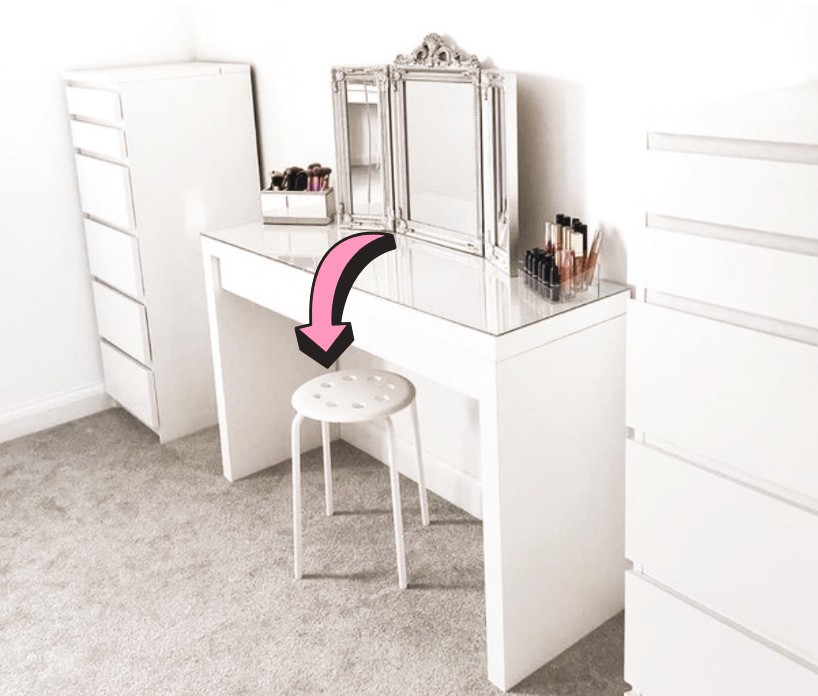 Imaš doma ta IKEA stol? Ne boš verjela, kaj je iz njega naredila znana blogerka (foto: IKEA)