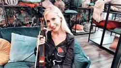 Navdih z Instagrama: Kdo je v resnici Slovenka, ki navdušuje z električnim zvokom violine?