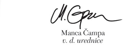 podpis Manca Čampa