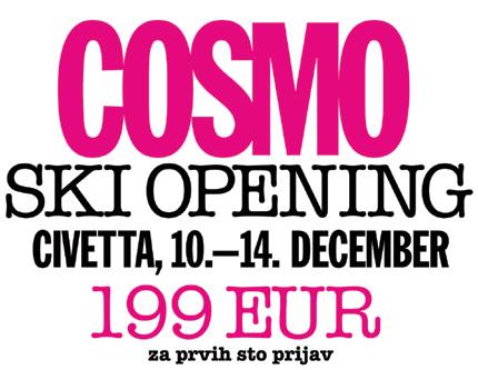 Cosmopolitan ski-opening