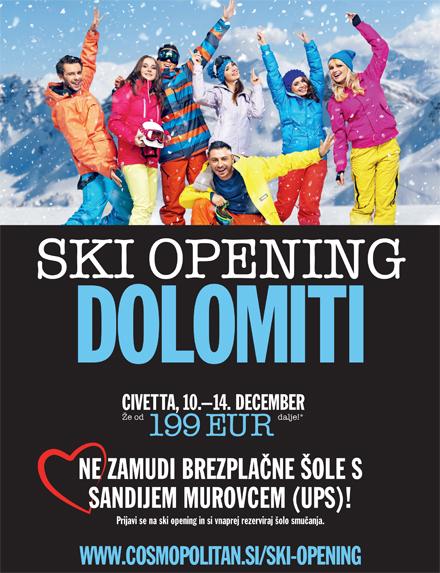 Ski Opening s Sandijem Murovcem
